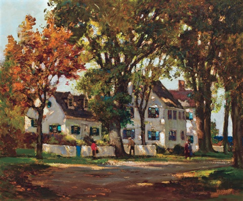 autumn leaves by anthony thieme