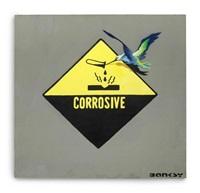 corrosive bird by banksy