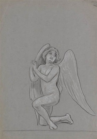 drawings 3 works by elihu vedder