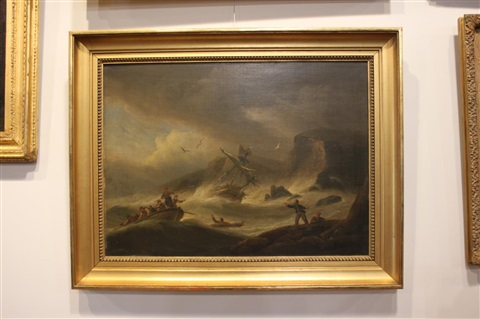 untitled shipwreck by thomas luny