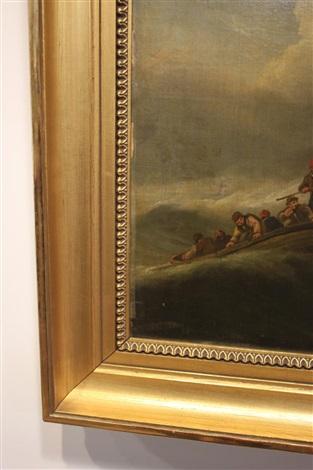 untitled shipwreck by thomas luny