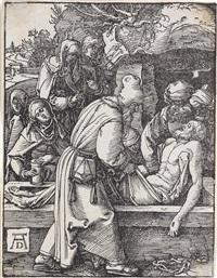 die grablegung by albrecht dürer