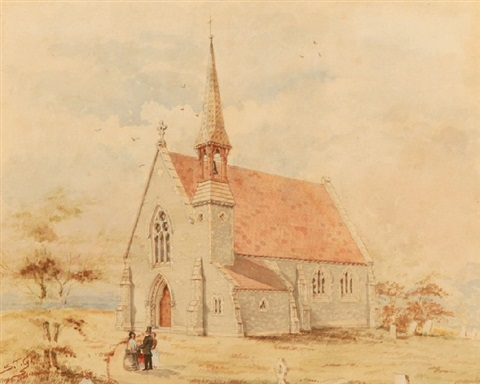 church in south australia by samuel thomas gill