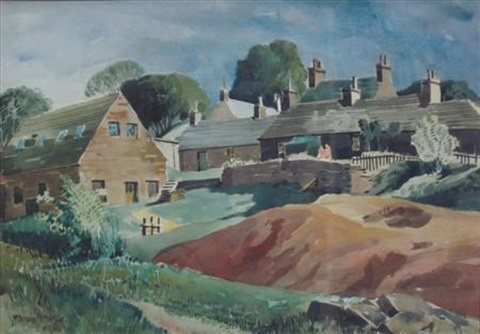 hamlet of cottages by james mcintosh patrick