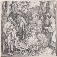 die hl. sippe by albrecht dürer