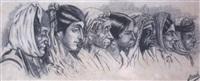portrait de sept algériennes by armand jacques assus