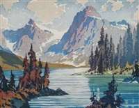 emerald lake by barbara (barleigh) leighton