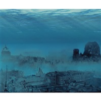 berlin under water (from the tv-scapes series) by sencer vardarman