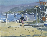 almyros beach, crete by ken howard