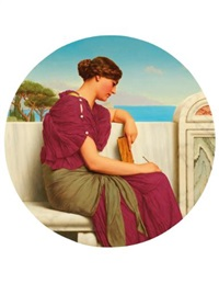 the answer by john william godward