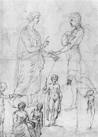 figure studies by vincenzo di benedetto tamagni