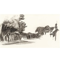 portrait of orleans (study) by edward hopper