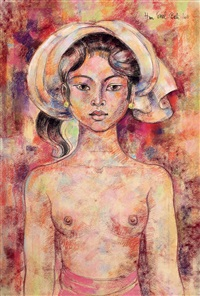 balinese maiden by han snel