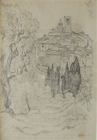 saint paul de vence by jeanne selmersheim-desgranges