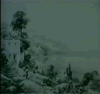 a) menaggio, lago di como                  b) varenna, lago di como by andrea vasari