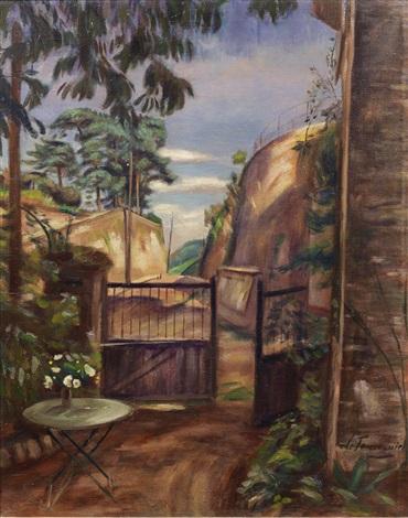 le jardin de l'artiste, grosrouvres by henri le fauconnier