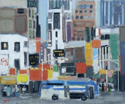 broadway new york by ginette rapp