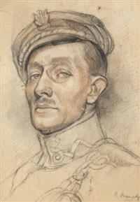 portret porucznika karola zyndrama maszkowskiego by roman kramsztyk