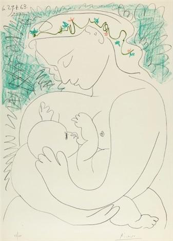 GRANDE MATERNITE, 29 AVRIL 1963 by Pablo Picasso on artnet