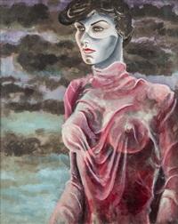 portrait of margeret spender by john banting