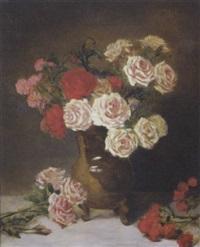 bouquets de roses by gustave bienvetu