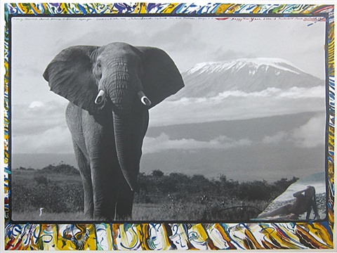 untitled happy new year by peter beard