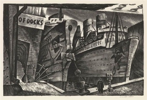 arrivals south street seaport by william p abbe