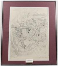 traumbild, und liebeszauber (2 works) by richard teschner
