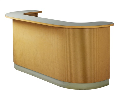 bar and reception desk by hans schabus