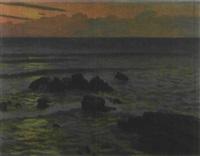 rising sun by hakutei ishii