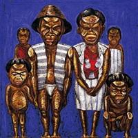 yami (taiwanese aborigines) by wu tien-chang