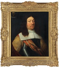 portrait du duc d'albe (?) by willem key