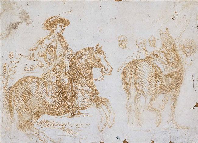felipe iv a caballo y cuadro de las lanzas estudio by diego rodríguez de silva y velásquez