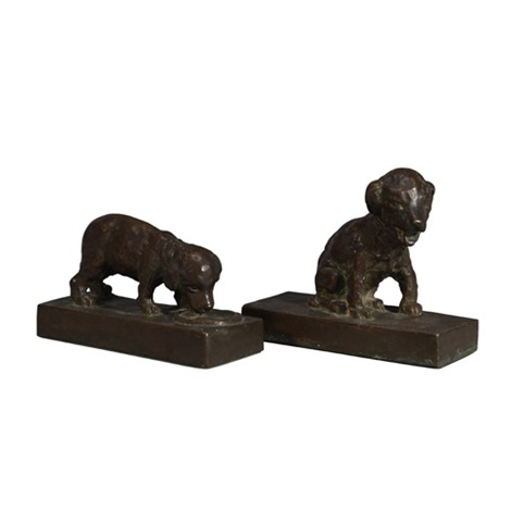 two puppies pair by edith barretto stevens parsons