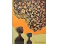 two figures by bettie cilliers-barnard