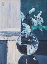 magnolia in a bowl by brian ballard