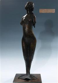 meerjungfrau auf rechteckiger by ladislav hlina