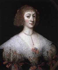 portrait of a lady by gilbert jackson