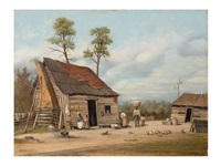 bringing home the cotton by william aiken walker