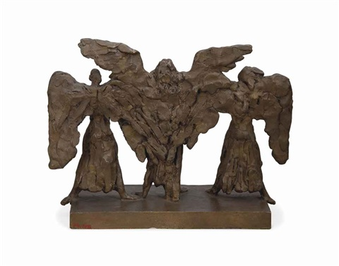 lucifer belial and beelzebub by sir jacob epstein