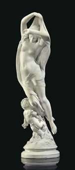 group emblematic of night by jean jacques pradier