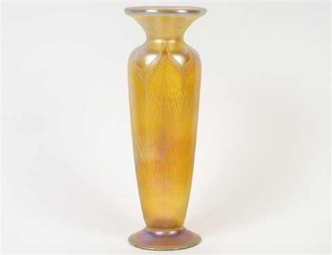 Tiffany Favrile Glass Vase By Tiffany Studios On Artnet