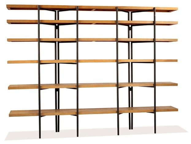 tall freestanding bookshelf by hendrik van keppel - Free Standing Bookshelves