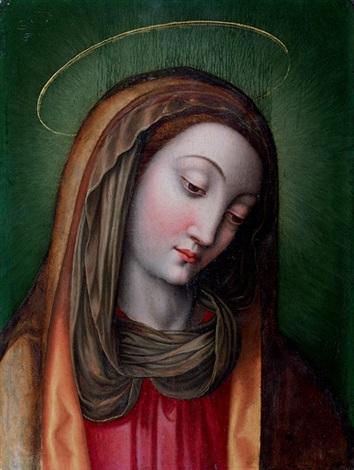 sainte en buste by scipione pulzone