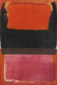 no. 21 (red, brown, black and orange) by mark rothko