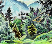 gebirgswald by fritz gartz