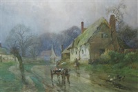 welford-on-avon (5 works) by frederick mercer