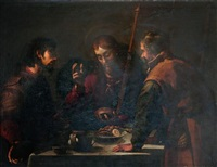 le repas à emmaüs by jacopo (da empoli) chimenti