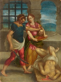 the death of saint john the baptist by anonymous-flemish (17)