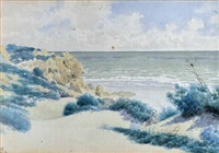 beach scene by james walter robert linton